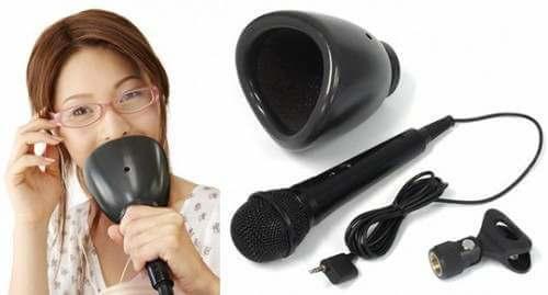 noiseless karaoke mic mute microphone 2