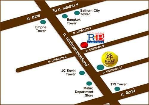 แผนที่ร้านคาราโอเกะ R&B_Karaoke